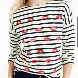 Valentine's day Tee Covered in Kisses!